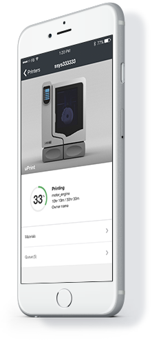 Print overview header phone